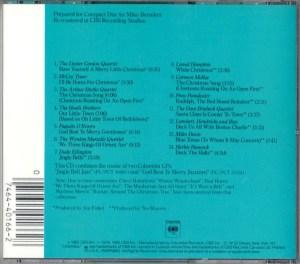 Jingle Bell Jazz CD Back Cover