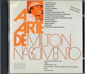 Milton Nascimento A Arte De Milton Nascimento CD