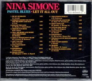 Nina Simon Pastel Let It All CD