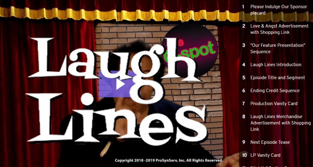 Laugh Lines - LP On Comedic Protocol