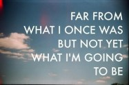 Far From What I Once Was . . .