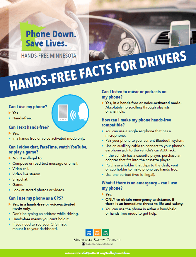 Hands-Free Facts for Drivers