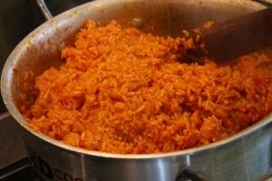 Lqueenwrites JOLLOF rice