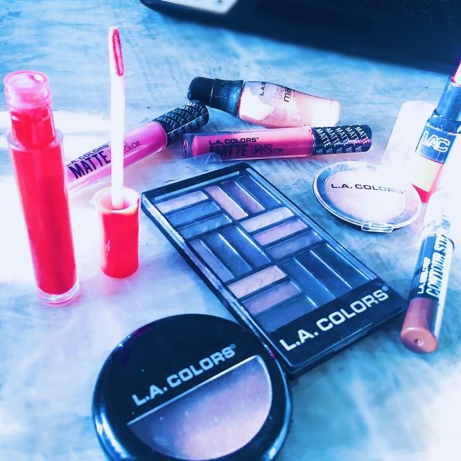 Dollar store makeup