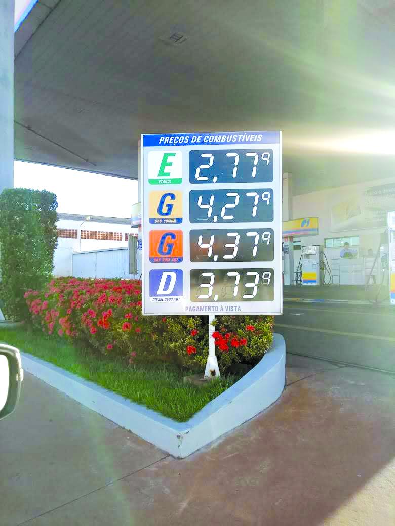 A1 Preço dos Combustíveis Andradina - Daniele Galli (7)