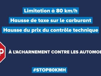 Éclairage sur la limitation à 80 Km/h - image 00
