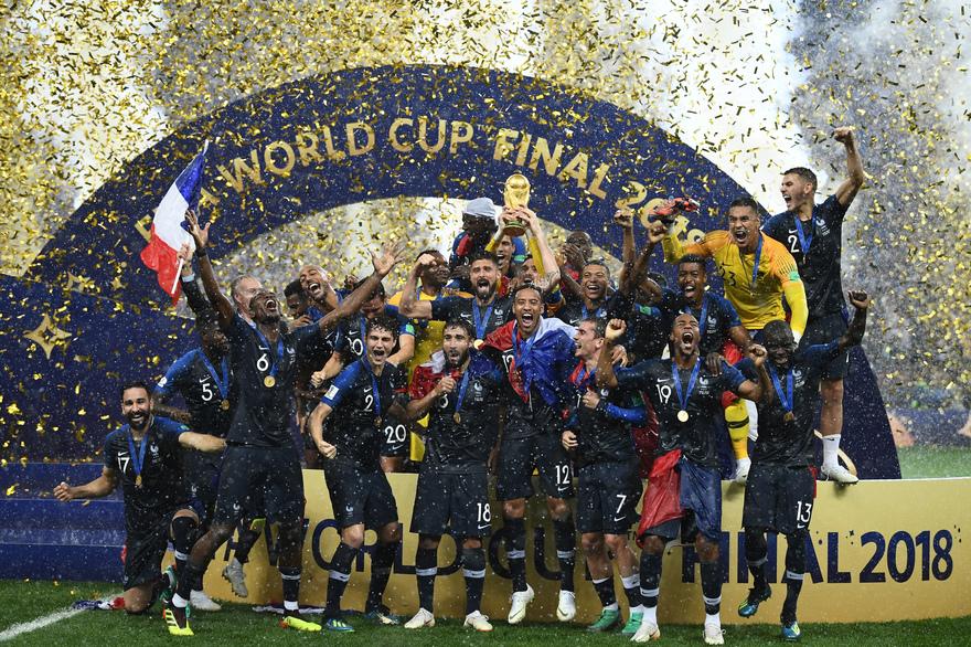 Equipe de France de football 2018