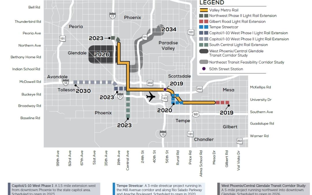 Glendale narrowly approves West Valley light-rail route