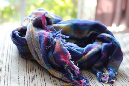I went out on a photography excursion with Leanne Cole and her friend on a very cold, blustery day, and this lovely scarf kept me warm!