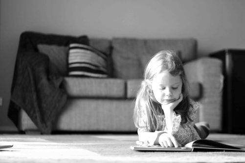 Megan reading