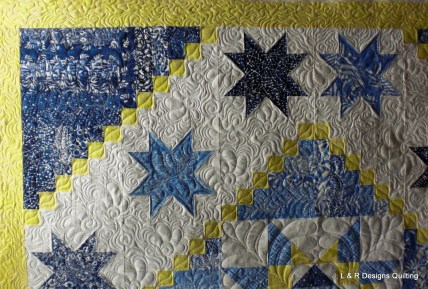 Janann's Blue and Yellow series 5
