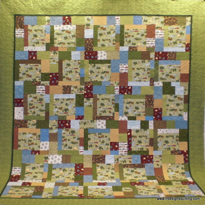 Marty's Big Camping Quilt | : camping quilt - Adamdwight.com