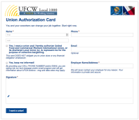 UFCW Electronic Card