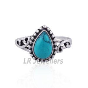 Beautiful Handmade Turquoise Engagement Ring