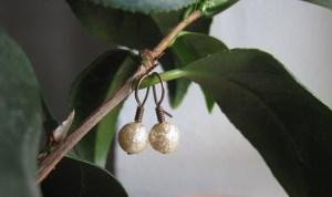 Perleøreringe – DIY