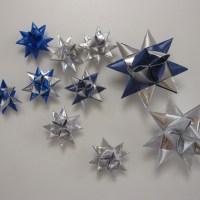 Flettede julestjerner - DIY