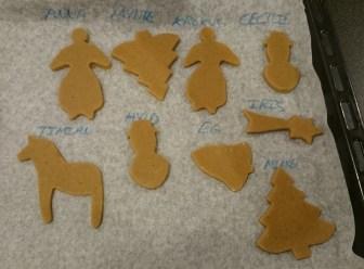 Børnenes honningkage figurer