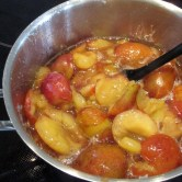 tilberedning af blommemarmelade