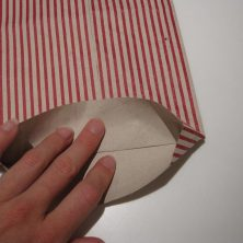 Foldet papir pose - trin 7