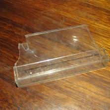 Plastik glasskår til halloween make up