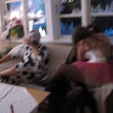 Halloween udklædte gæster