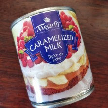 Karamelliseret mælk/dulce de leche på dåse