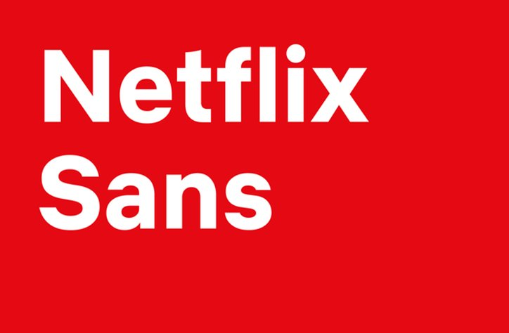 "Netflix Creates New Custom Font ""Netflix Sans."""