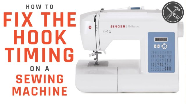How To Fix The Hook Timing On A Sewing Machine DIY Home New Fix Timing On Sewing Machine