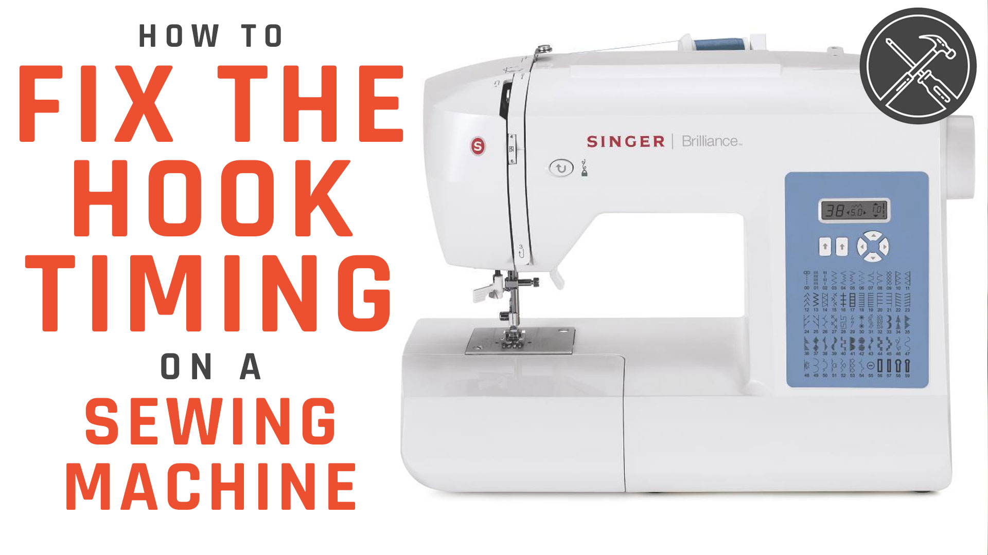How to Fix the Hook Timing on a Sewing Machine