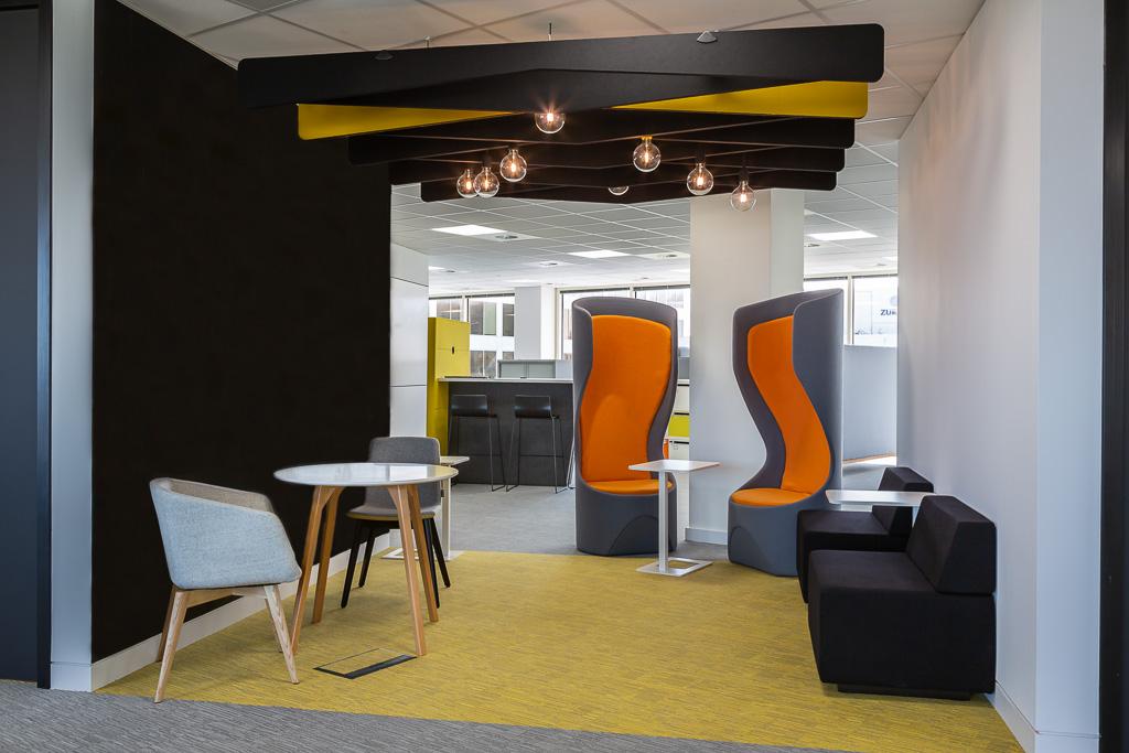 Interior office showing new refurbishment
