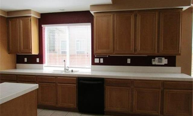 Lots of cabinet and counter space.