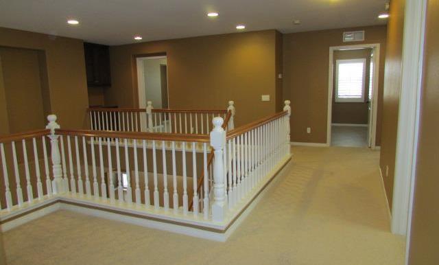Nook area upstairs.