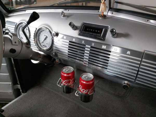 1947-1953 GMC Chevy Truck Phantom Billet Dash LS Fabrication Installed