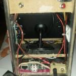 Inside: Not My tidiest Wiring !