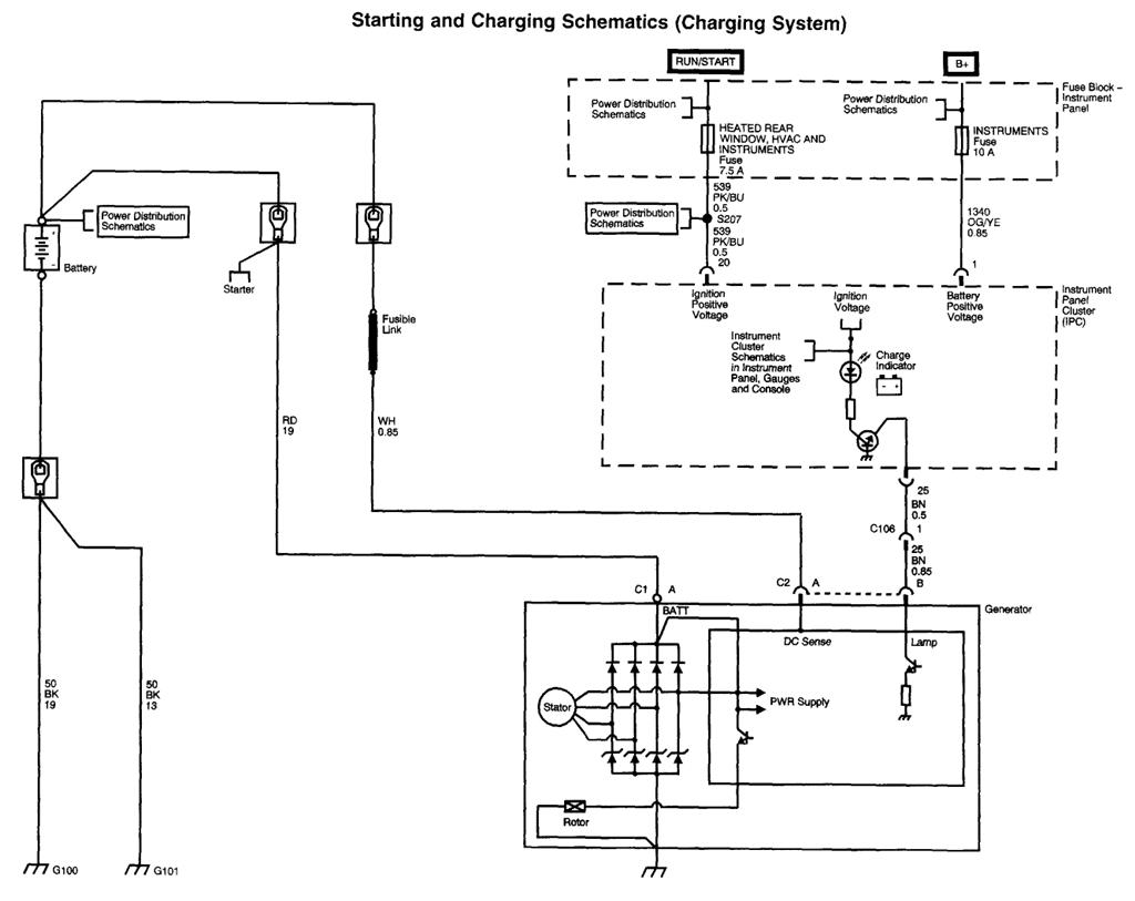 Jeep Alternator 2wire Generator Wiring Diagram