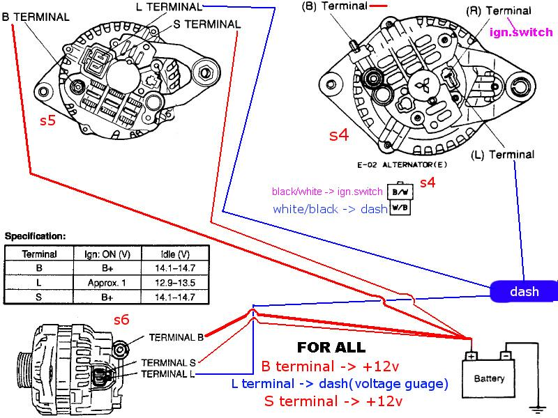 denso mini alternator wiring diagram denso compressor cross rh banyan palace com Lucas Alternator Wiring Diagram 5 Wire Alternator Wiring Diagram