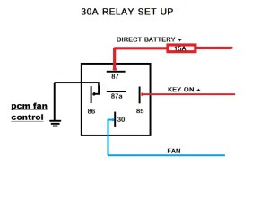 fan wiring questions for LS1 with American autowire