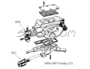 OEM 48 mm Throttle body question  LS1TECH  Camaro and