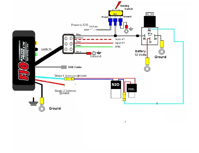 Aem Wideband O2 Sensor Wiring Diagram - Wiring Diagram
