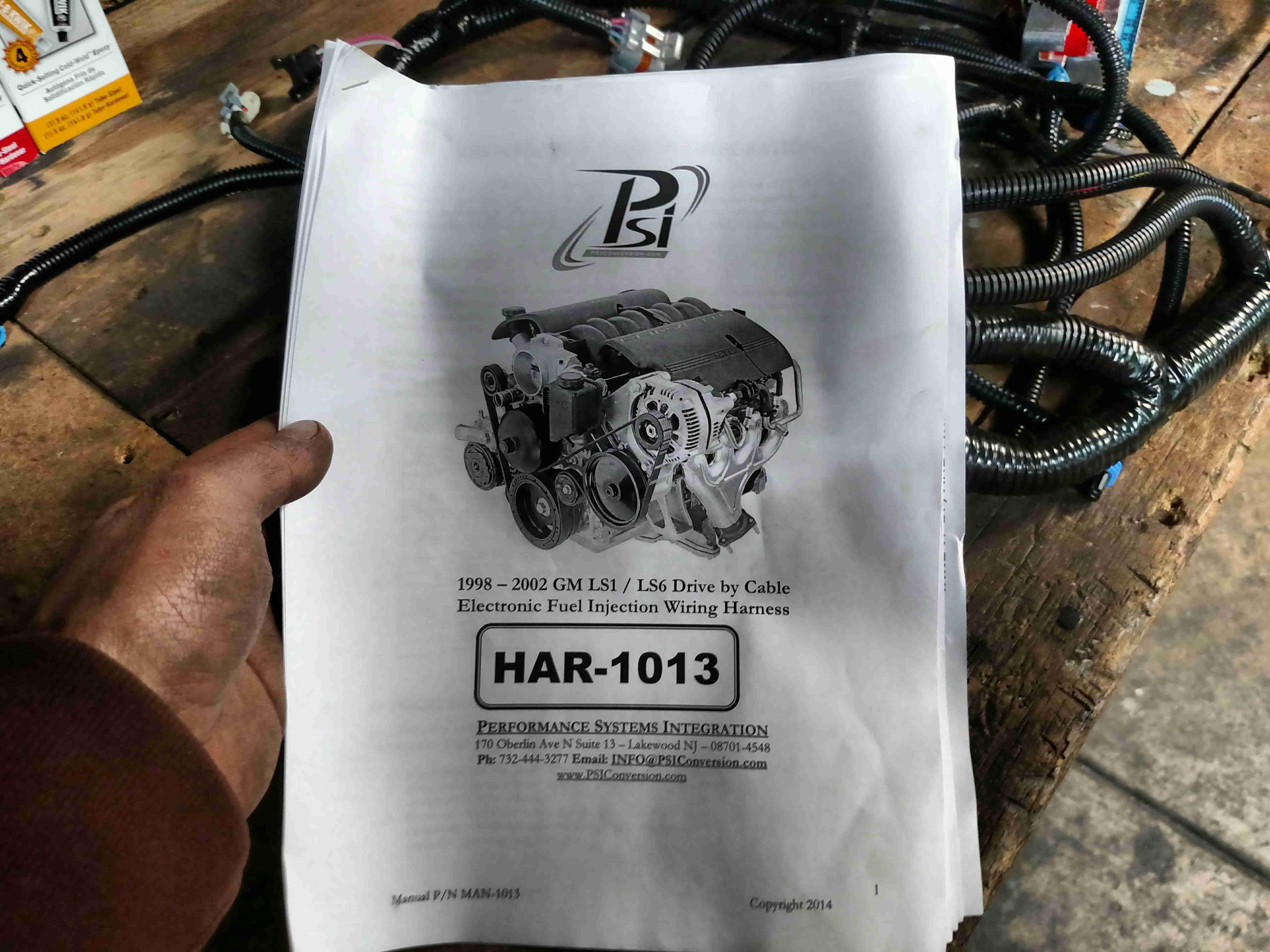 Psi Ls1 T56 Standalone Wiring Harness