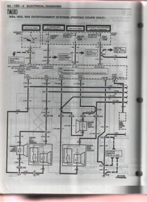 1996 10 speaker pontiac system pre monsoon aftermarket 5 channel amplifier  LS1TECH