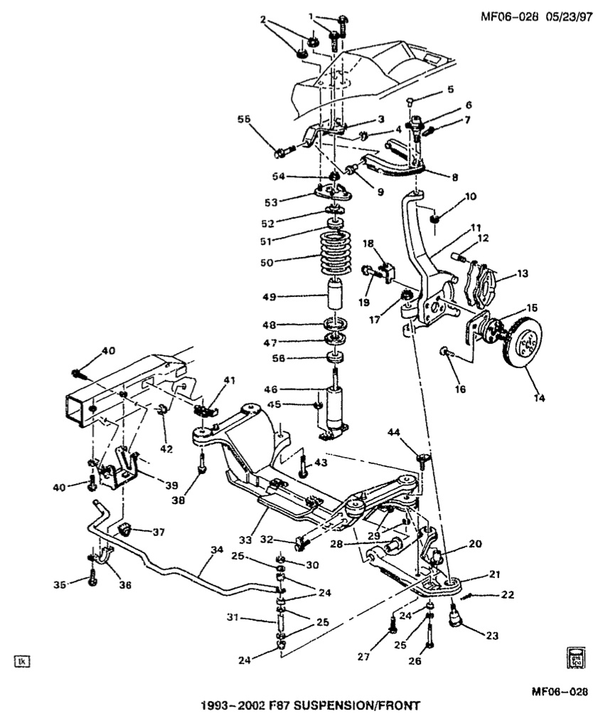 Is this spacer thing necessary between upper ca shock mount and body rh ls1tech 69 firebird front end diagram 1969 firebird front bumper diagram