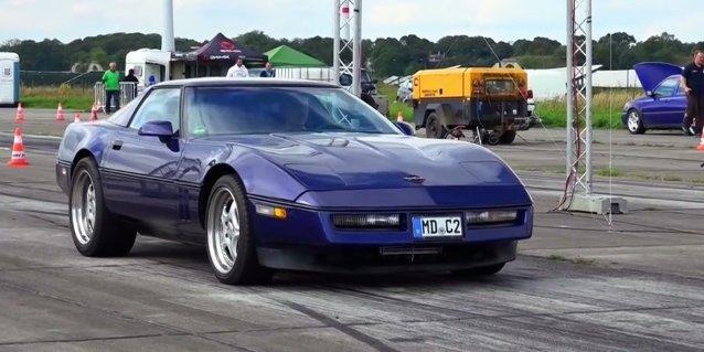 DRAG RACE C4 Corvette Kickin' Ass Overseas - LS1Tech com