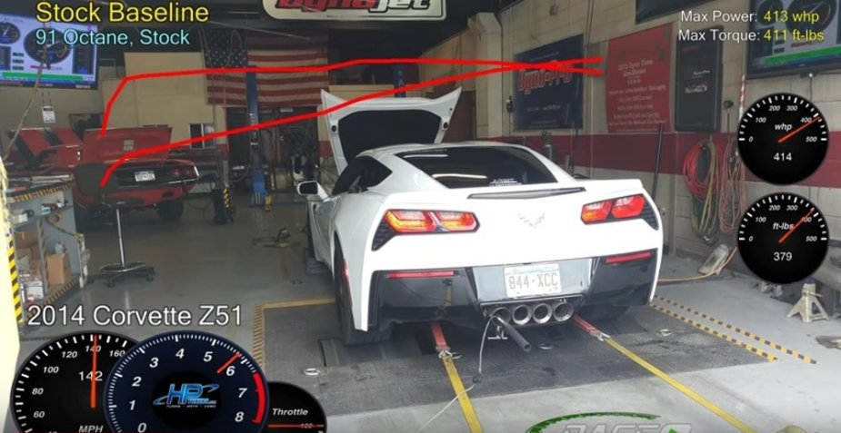 Dyno Blast: C7 Stingray Before and After ProCharger - LS1Tech com