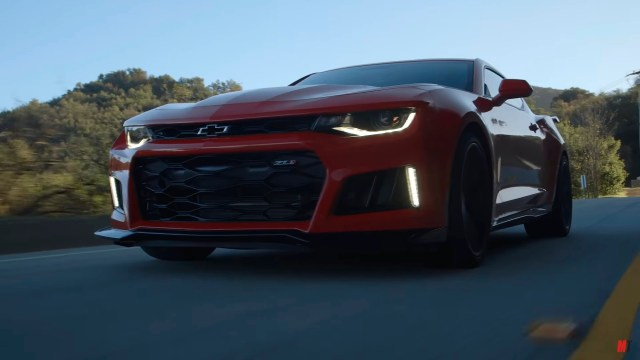 LS1tech.com Chevrolet Chevy Camaro ZL1 motortrend ignition Willow Springs hot lap