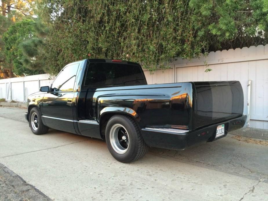 Craigslist Find of the Week: Triple-Black 1991 Chevy Pickup