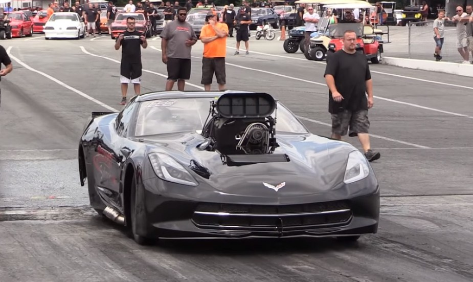 Monstrous Supercharged C7 Corvette Rips the 1/8th-Mile