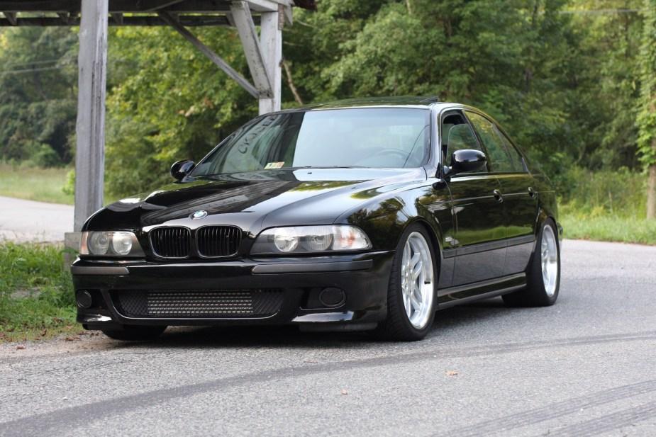 BMW 528i with a turbo LS1