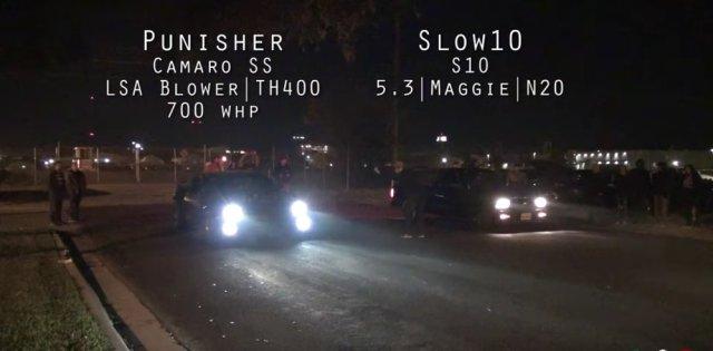5g Camaro Vs S10