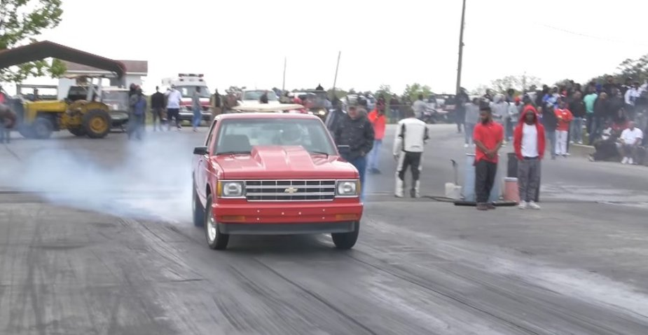 Beastly Chevy S10 Stomps a Bunch of Awful Drivers - LS1Tech com